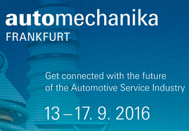 Visit us at Automechanika Frankfurt Hall 1.1 Stand C22